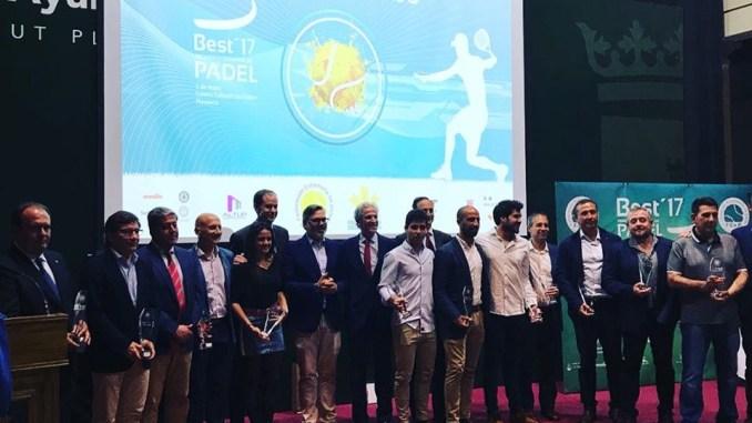"""El Club de Tenis Cabezarrubia reconocido como mejor """"Club de Pádel de Extremadura"""""""