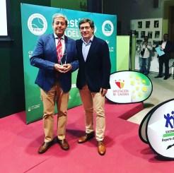 """El Club de Tenis Cabezarrubia reconocido como mejor """"Club de Pádel de Extremadura"""" (6)"""