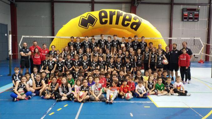 Fiesta Final de Temporada de las Escuelas Cacereñas de Voleibol