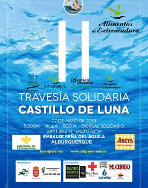 II Travesía Solidaria en Aguas Abiertas Castillo de Luna