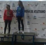 María Campeona en los 1.000m.l.