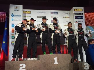 Montes y Collado del ERT se llevan la victoria en el Rally Terra da Auga