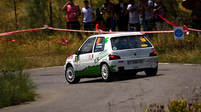 Montes y Collado segundos de la Challenge Rallycar del XVI Rallysprint Villa de Feria