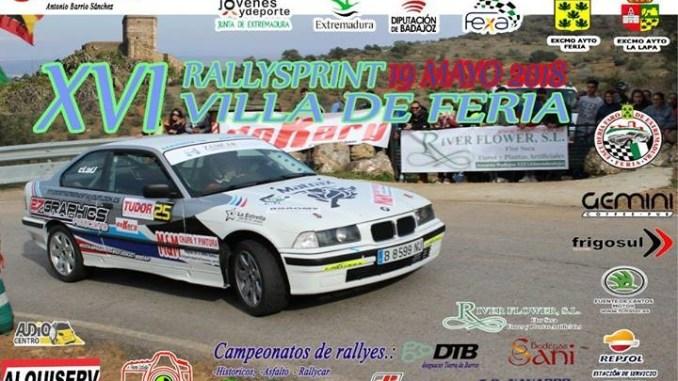 Tercera parada del regional de asfalto en el XVI Rallysprint Villa de Feria