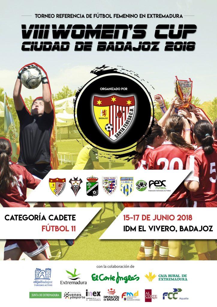 Octava edición de la Women's Cup Ciudad de Badajoz en Fútbol 11