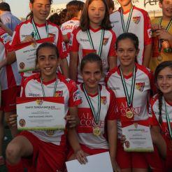 Despedida de la temporada del Santa Teresa Badajoz por todo lo alto con partidos, diversión y reconocimient (
