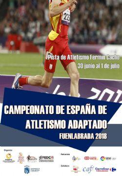 Diecisiete deportistas extremeños en el Campeonato de España de Atletismo IPC