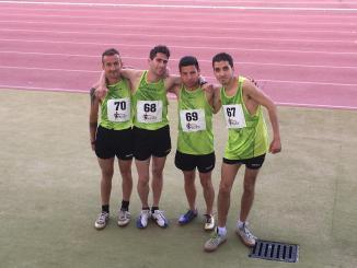 Eduardo Virlán participó Campeonatos de España Jedes de Pista por Comunidades Autónomas