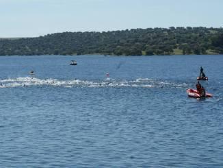 El triatlón extremeño se cita este fin de semana en Orellana