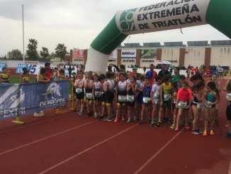Un centenar de triatletas se citarán en Almendralejo
