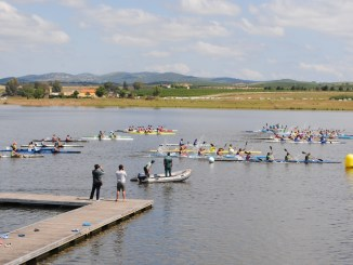 Éxito Deportivo del Piragüismo en el Lago de Alqueva