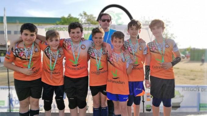 Los alevines del Extremadura Hotel Río Badajoz disputan el campeonato de España