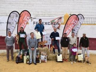 Manuel Casas Barragán se impone en el Campeonato de Extremadura de Podencos en Recinto Cerrado