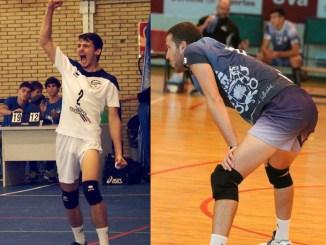 Oscar Fernández Celis y Razvan Sebastian Tarta nuevos fichajes en el Grupo Laura Otero de Voleibol