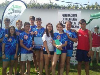 Resultados del Club Salvamento Don Benito en el IV Open de Extremadura de Aguas Abiertas de Salvamento y Socorrismo