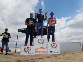 Victoria de Félix Chamorro en el Slalom de Talavera la Real