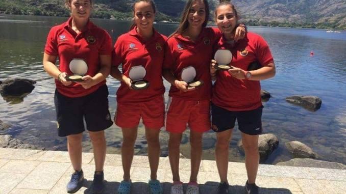 Grandes resultados del piragüismo#extremeño en las regatas de Valladolid y Sanabria