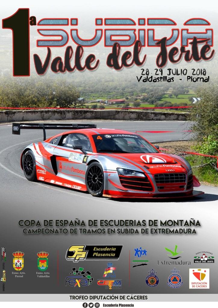 Avance de la primera Subida Valle del Jerte organizada por Escudería Plasencia