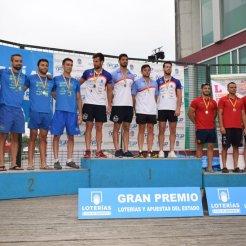 Bronce del CP Iuxtanam Monteoro K4 Hombre Senior 500 metros