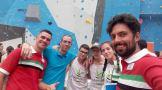 Bronce para la Selección Extremeña de Escalada Cadete en Santiago de Compostela (14)