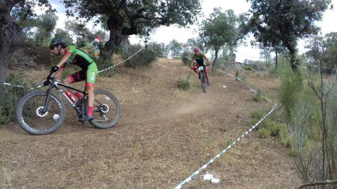 Pedro Romero y Manu Cordero campeones de Extremadura XCO (Rally) en categoría élite y sub 23