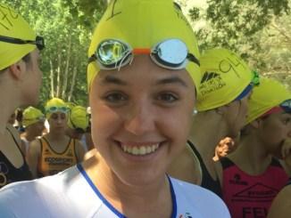 Raquel Puertas Tenorio cuarta en el Campeonato de España de Triatlón en GGEE