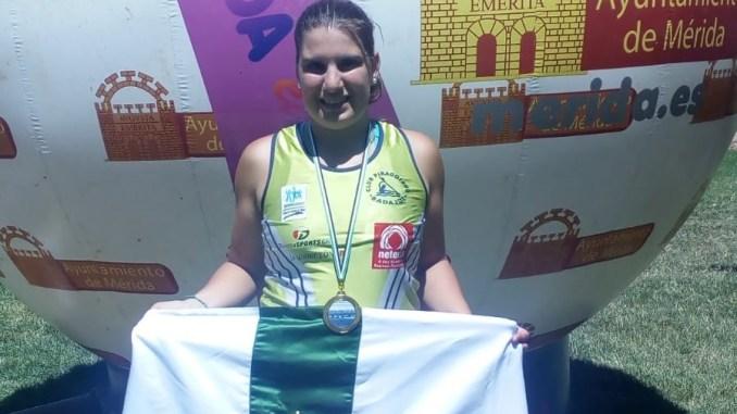Oro para Elena Ayuso en la VI Regata JUDEX de Velocidad