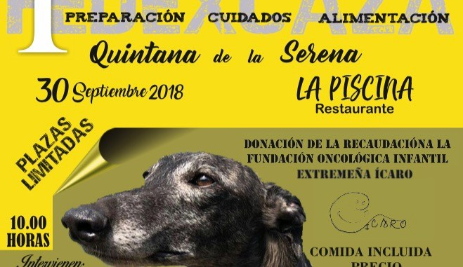 Quintana de la Serena acoge en septiembre la I Jornada de Formación del Mundo del Galgo