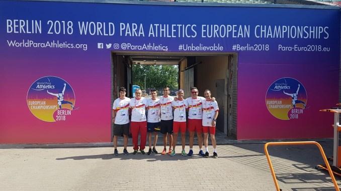 Mohamed Medhi y José María Pámpano listos para el Campeonato de Europa de Atletismo Paralímpico