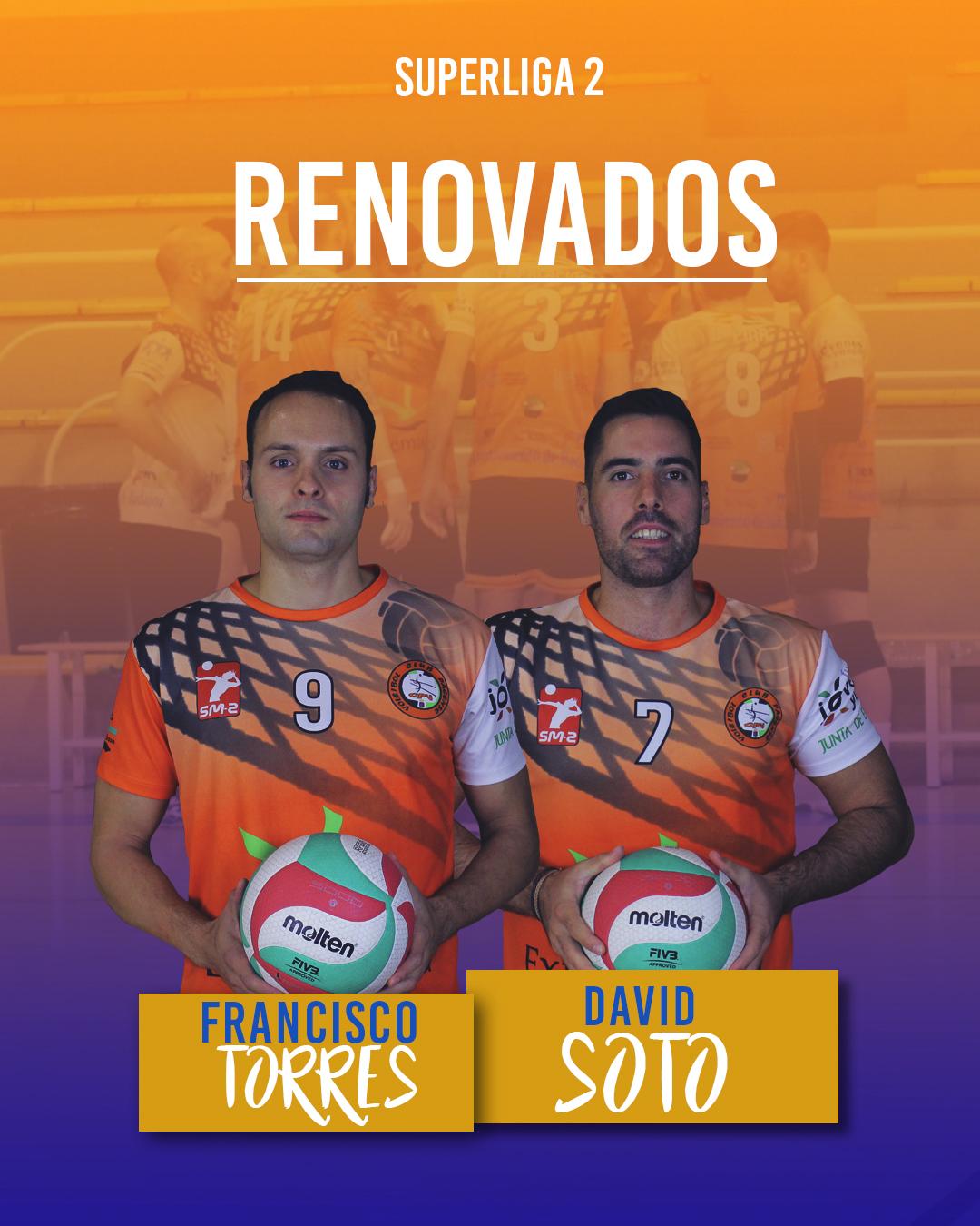 El Extremadura Hotel Río Badajoz renueva a dos de sus veteranos