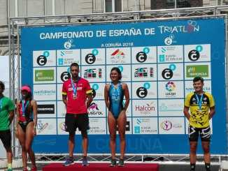 Buena actuación de los extremeños en el Campeonato de España de Triatlón Olímpico