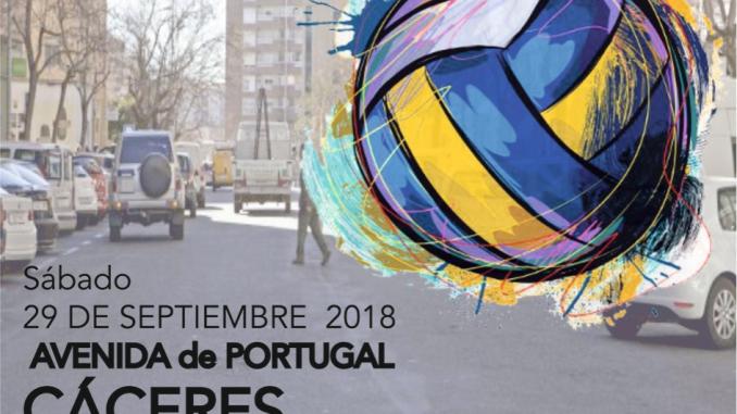 I Edicion del Voleibol en la calle