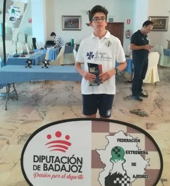 Javier Jaramago vence en el Gran Premio Diputación de Badajoz