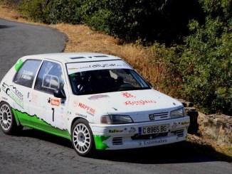 Montes y Collado se llevan la victoria en el regional de asfalto en el VI Rallye de Extremadura Histórico