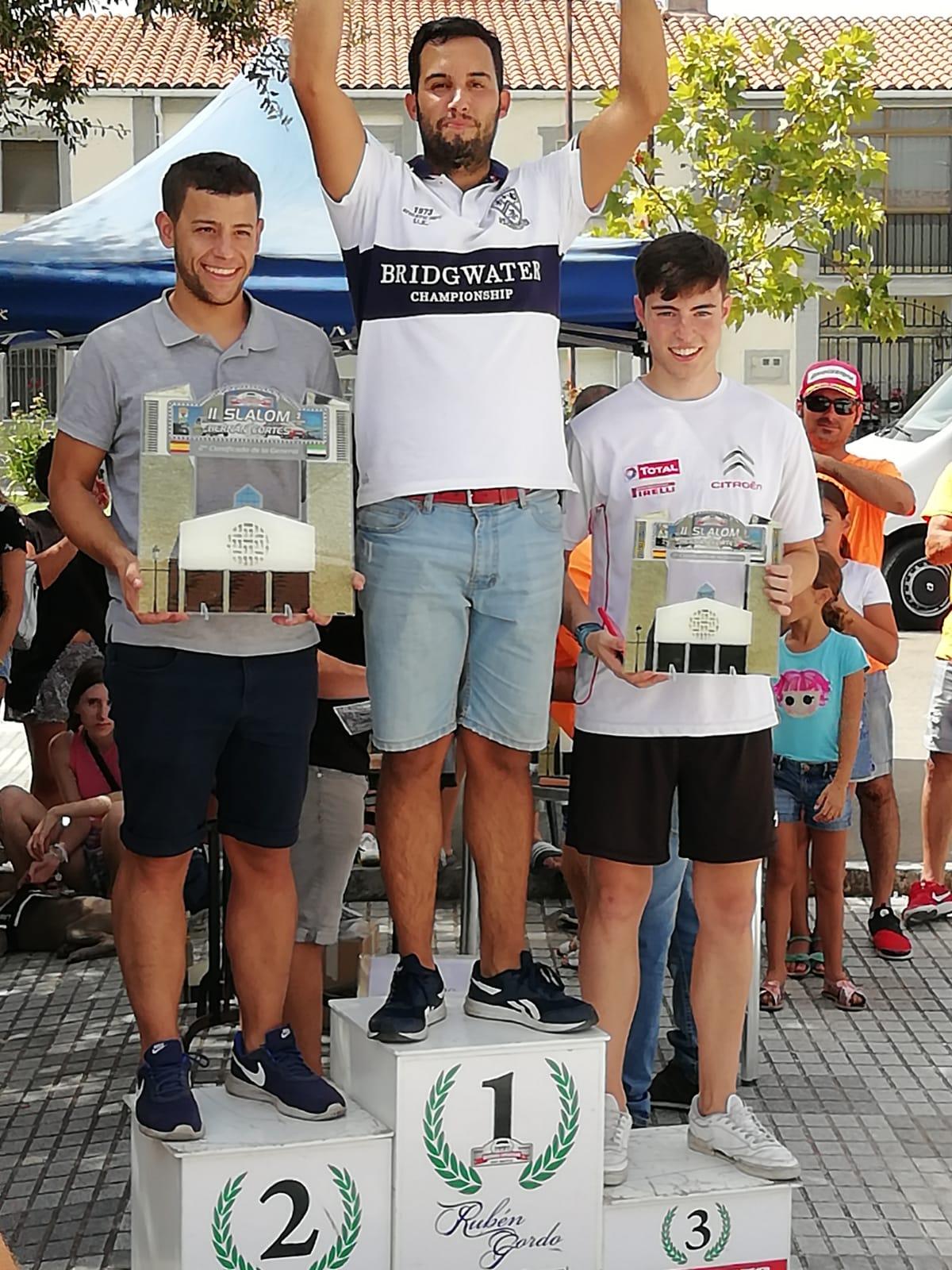 Francisco Reales repite triunfo en el Slalom Hernán Cortés