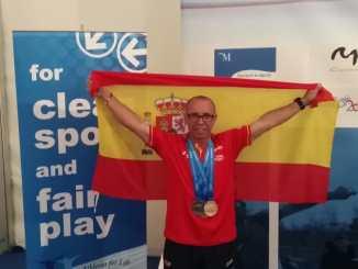 Miguel Periáñez Subcampeón del mundo en 20 km marcha y campeón del mundo por equipos