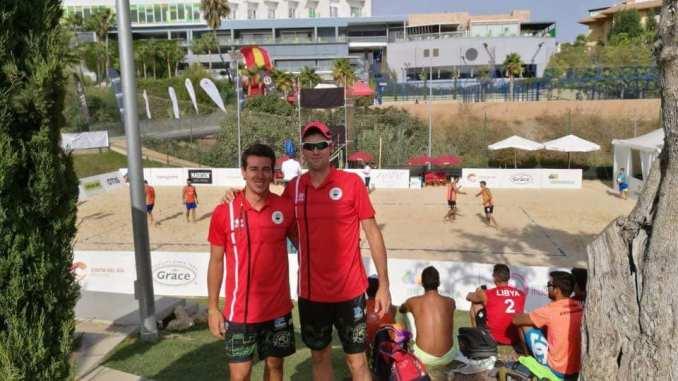 Extremadura voley playa alcanza un noveno puesto en la final del campeonato de España de Voley Playa
