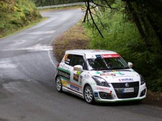 Décima posición para Quijada y Cuni en el 42º Rallye Villa de Llanes