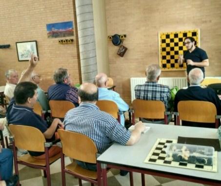 El Club Ajedrez Ajoblanco Extremadura en el mes del Mayor
