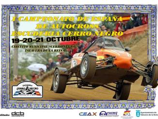 Seis pilotos extremeños en el cierre del nacional de Autocross en Talavera de la Reina