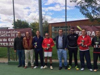 Ignacio de Llera se adjudicó el Campeonato de Extremadura de veteranos +45