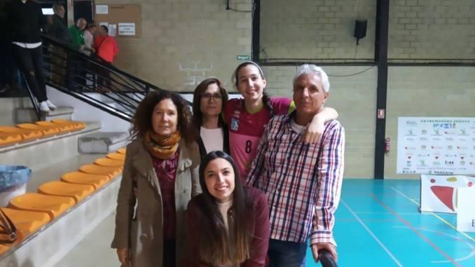 Inma Lavado mejor bloqueadora de SF2 y al septeto ideal de la sexta jornada