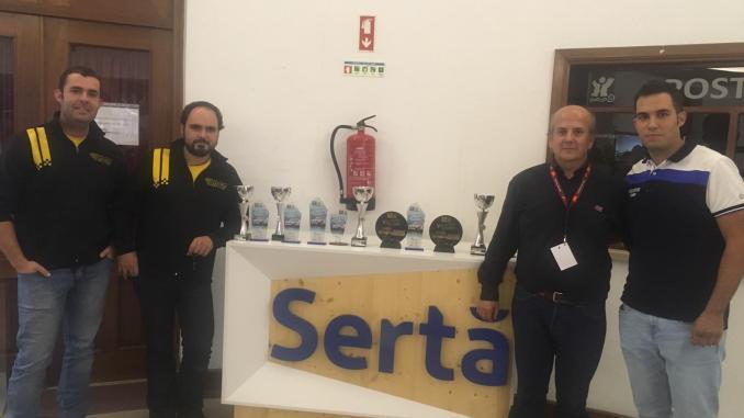 Cuarta y quinta posición para los extremeños en el VI Rali Histórico Vila da Sertã