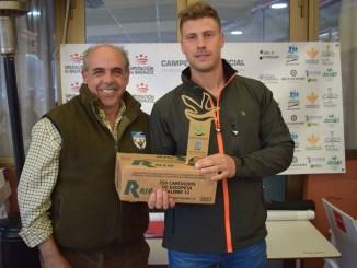Jesús Lozano repite como Campeón de Extremadura de Caza Menor con Perro