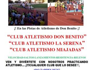 I Encuentro Interclubes en las Pistas de Atletismo Don Benito