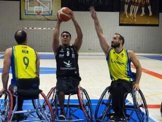 El Mideba Extremadura gana al poderoso CD Ilunion
