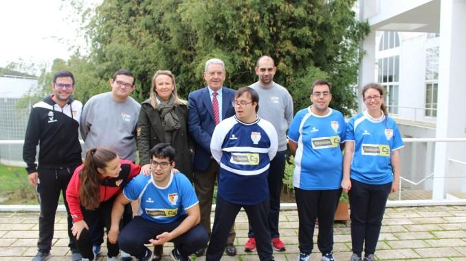 Fundación CB apoya al Santa Teresa Badajoz