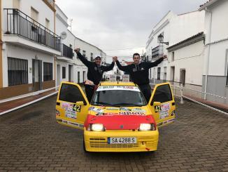 Víctor Colorado cierra la Copa FEXA-RallyAl en Fuente del Maestre y Salvaleón