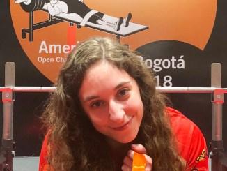 Loida Zabala Campeona del Open de las Américas en la categoría de menos de 50 Kg