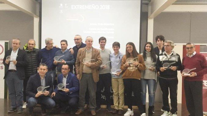 La FExT celebró la Gala del Tenis Extremeño en el Centro Nacional de Tecnificación Ciudad Deportiva de Cáceres